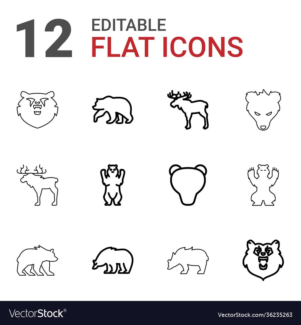 12 alaska icons