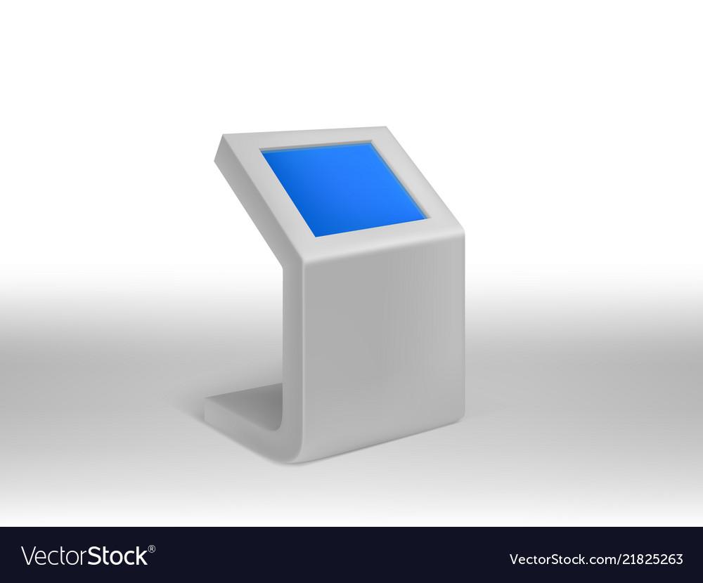 3d realistic digital informational kiosks