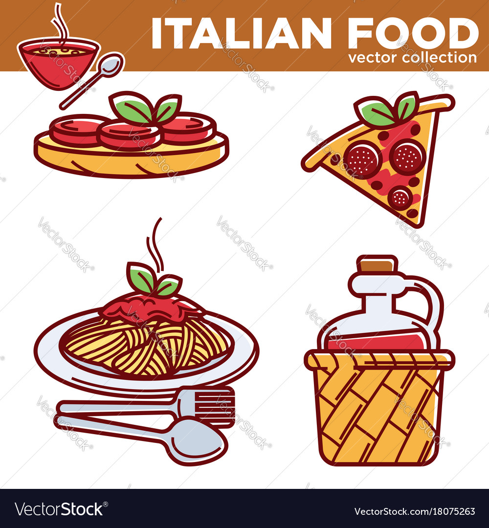 Italian cuisine traditional food dishes food pizza