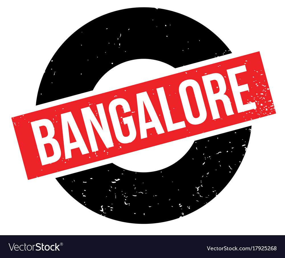 Bangalore rubber stamp