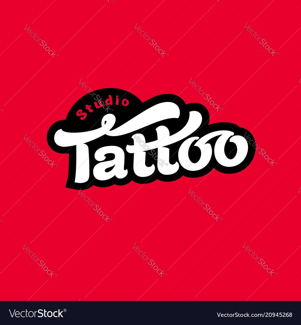 Logo tattoo studio image