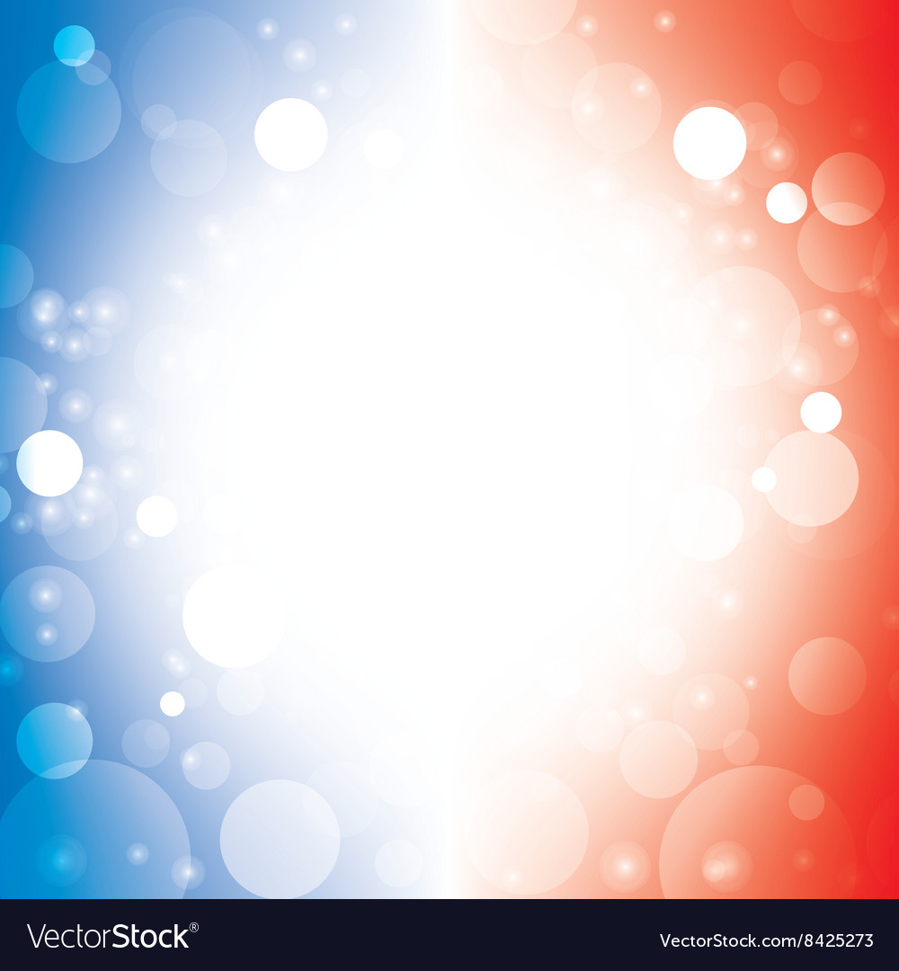 Abstract background blur color of american flag 1