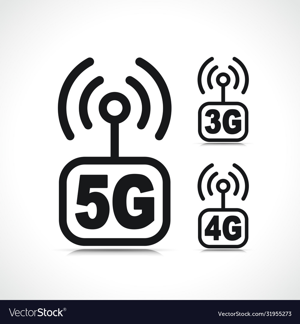 Internet connection icon symbol vector