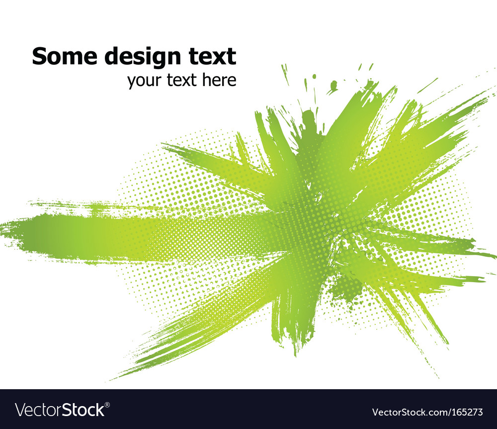 Paint splash background vector image