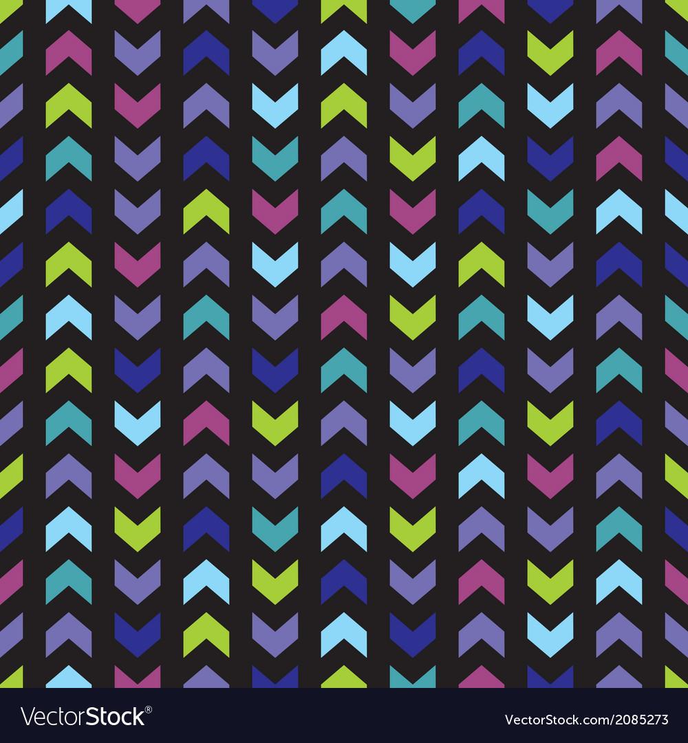 Seamless Wrapping Wallpaper Zig Zag Print