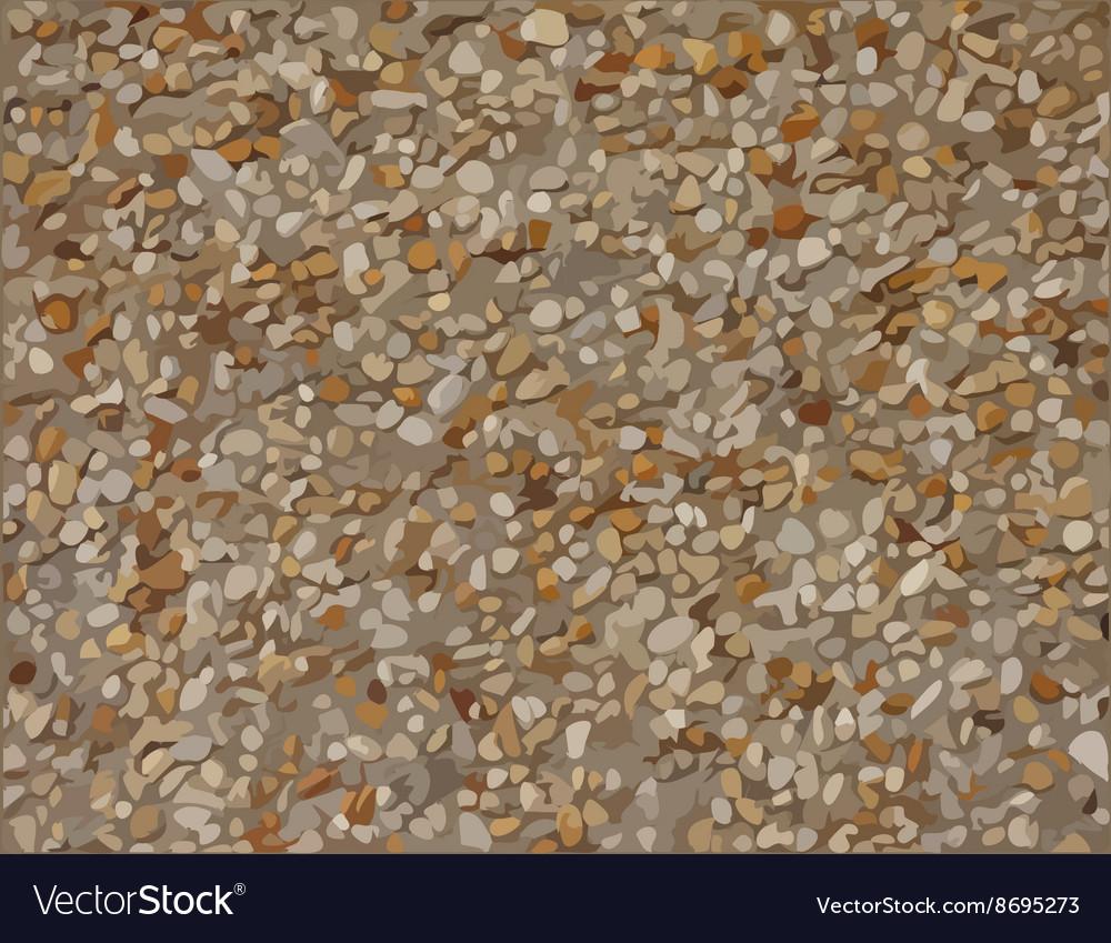 Stone plaster texture vector image