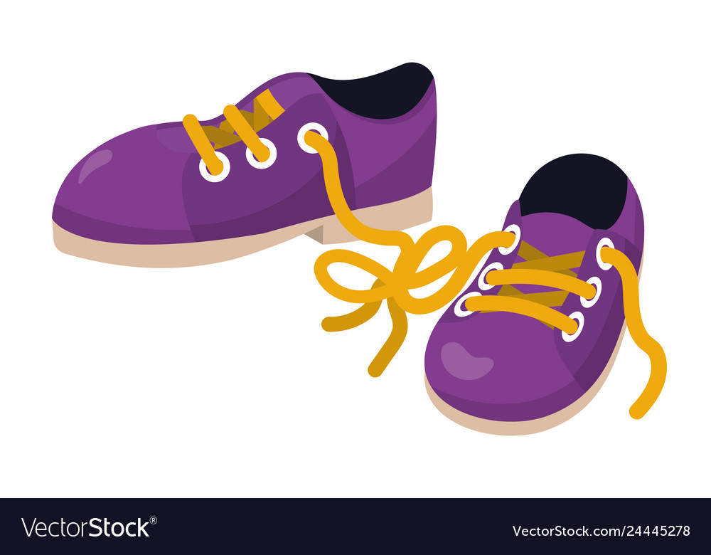 Shoes Clothing Cartoon Royalty Free Vector Image