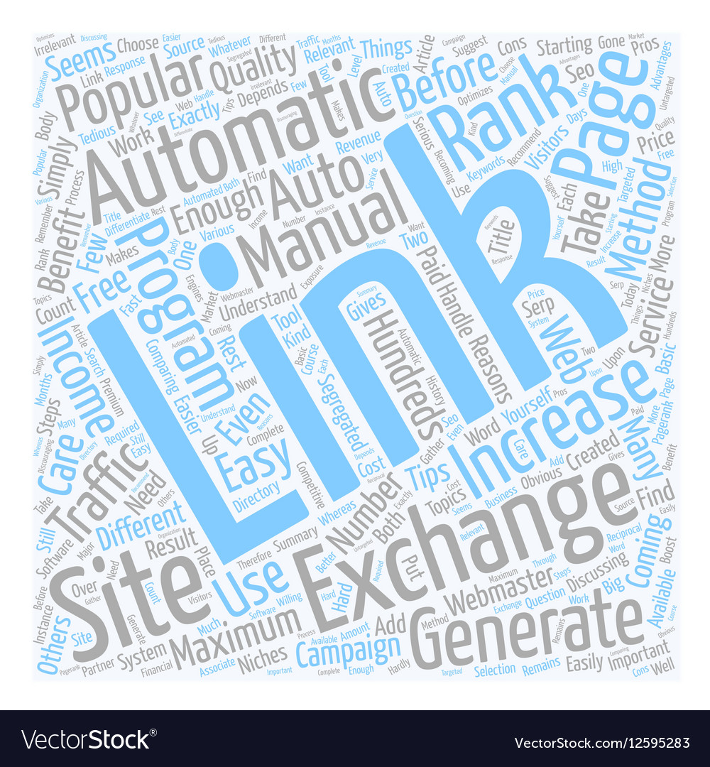 Automatic Link Exchange And Its Benefits text