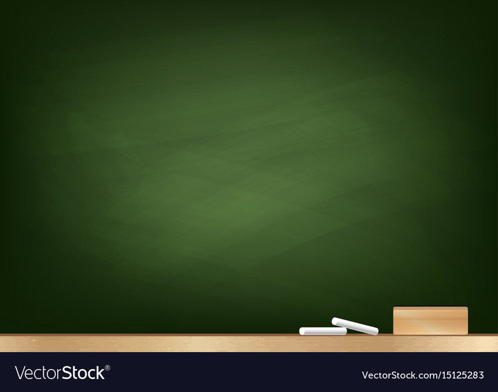 Blackboard background chalk and blackboard eraser