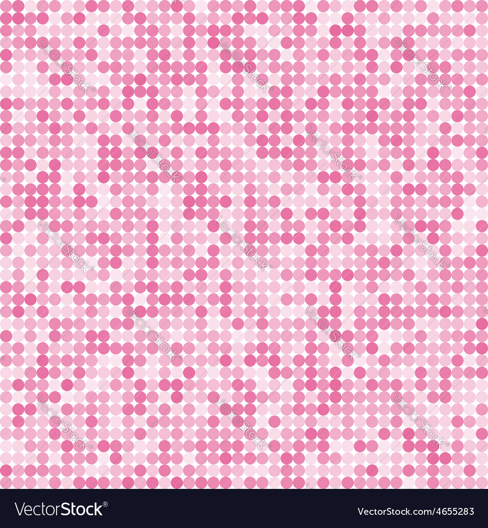 Pattern of the abstract circle pink background