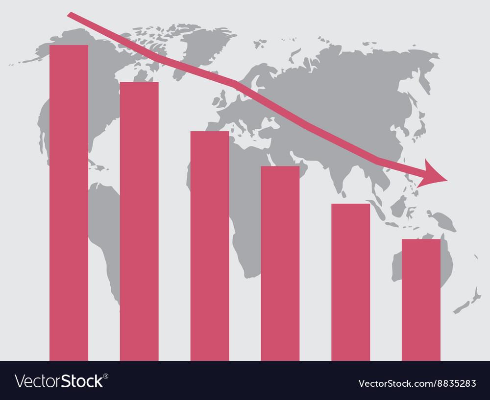 World crisis chart template