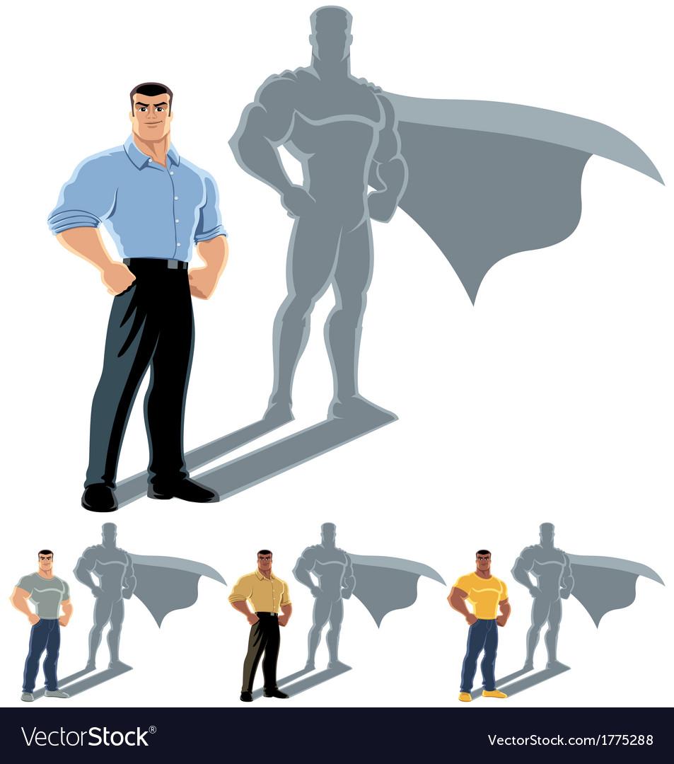 Man Superhero Concept