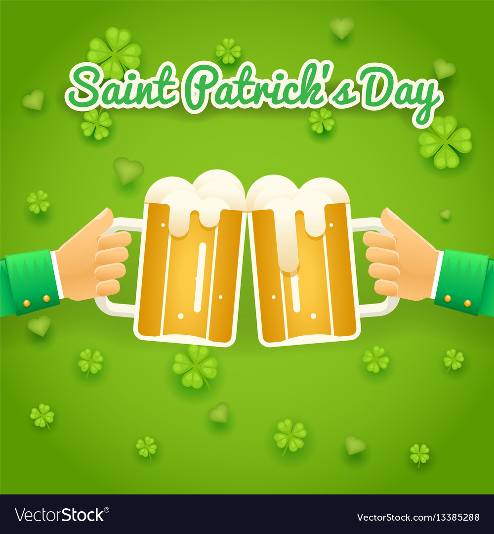 Saint patrick day celebration success and