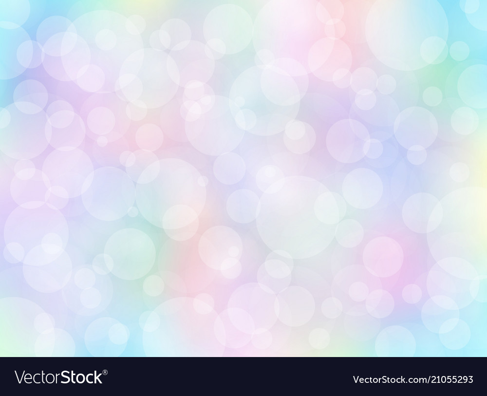 Abstract colorful blurred background with bokeh