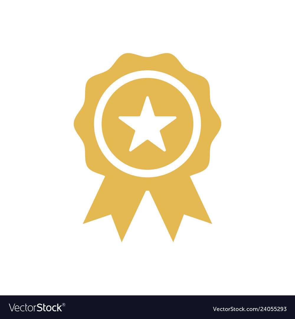 Star badge icon design template