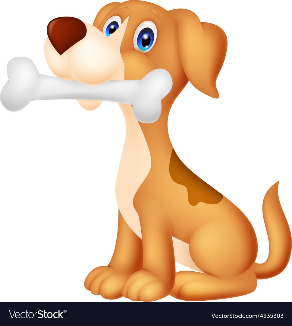 Февраля открытка, картинки собака с косточкой для детей