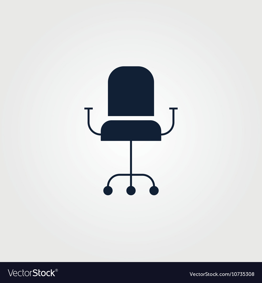 Chair icon simple