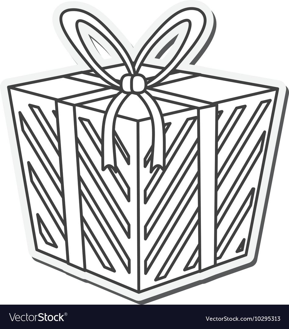 Gift present bowtie design