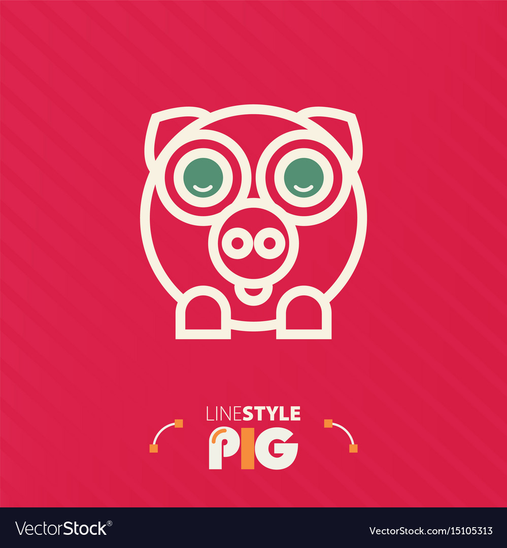 Line style pig