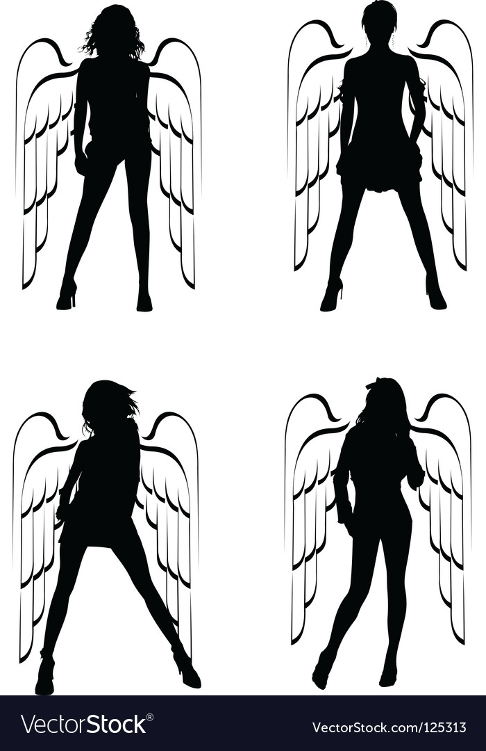 Winged girls