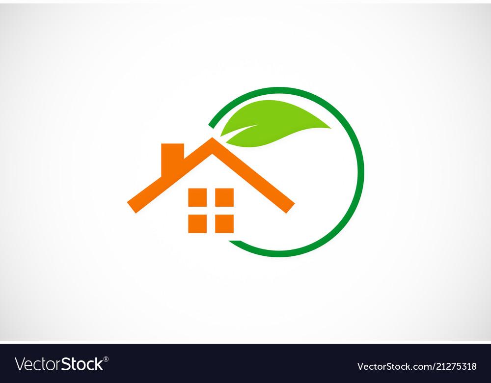 Green house garden logo