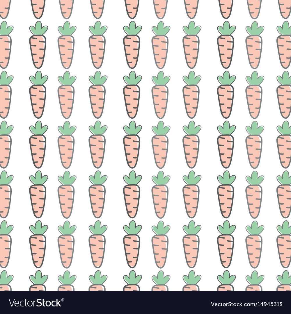Health carrot vegetable icon background vector image