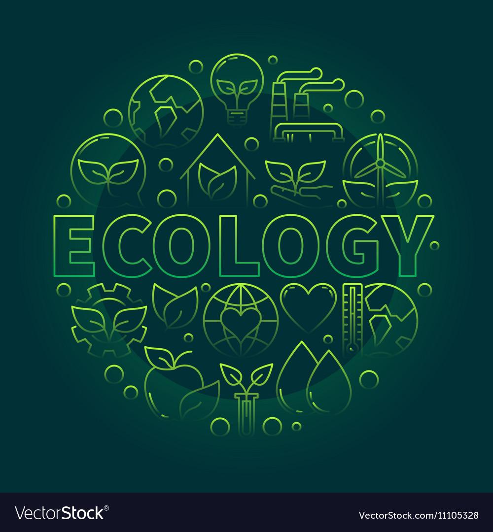Ecology green symbol