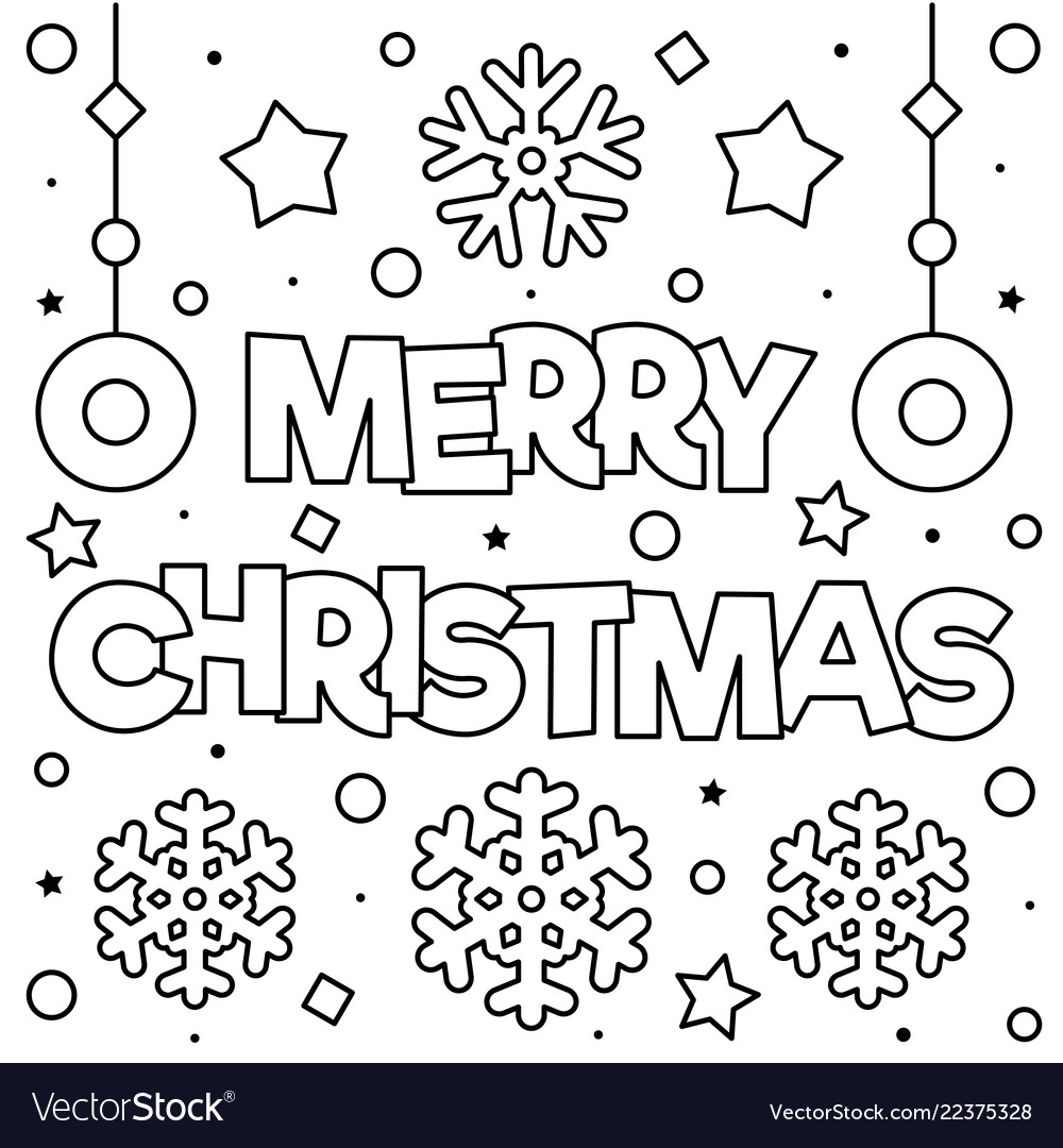 Christmas Merry coloring pages pictures forecast to wear for everyday in 2019