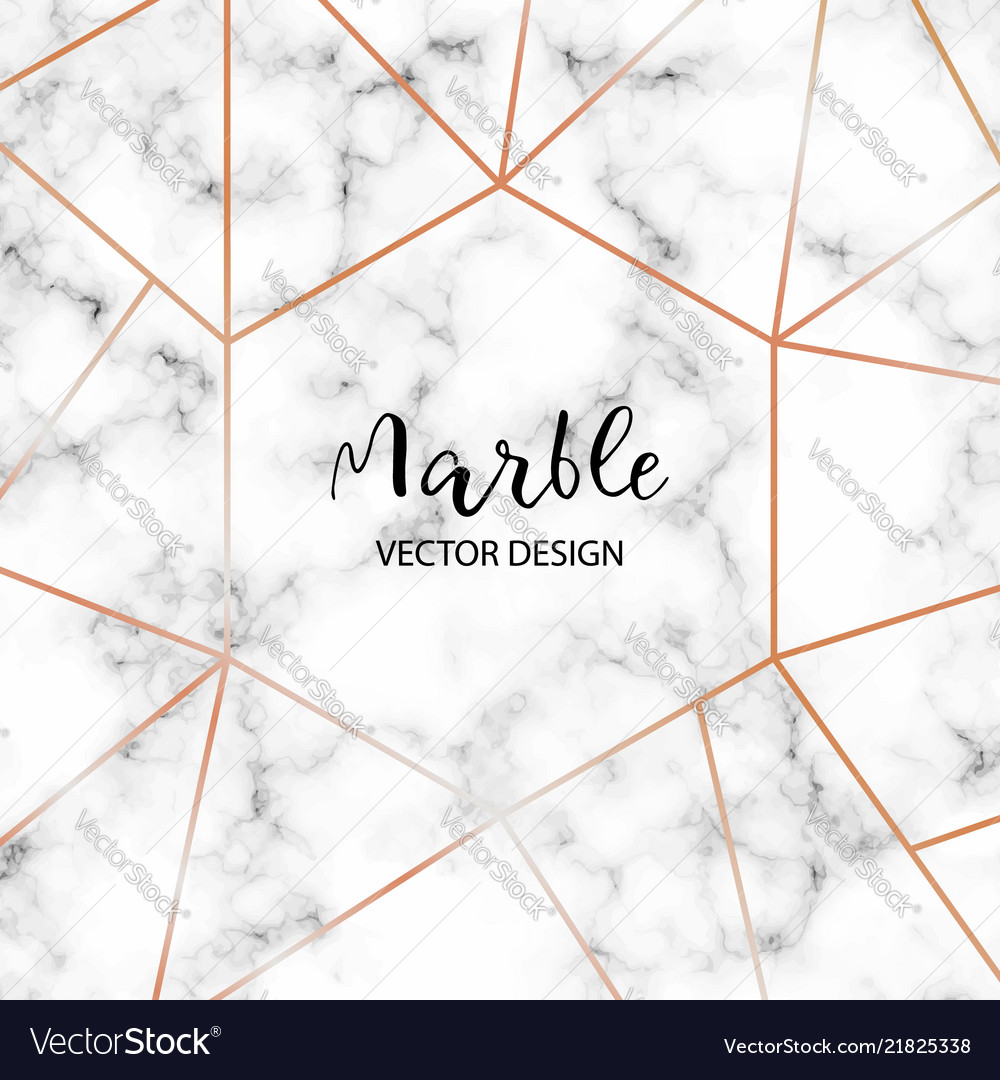 Marble design template for invitation banners