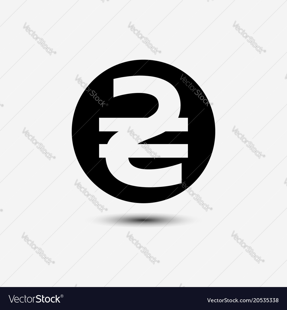 Sign Of The Ukrainian Hryvnia Icon Royalty Free Vector Image