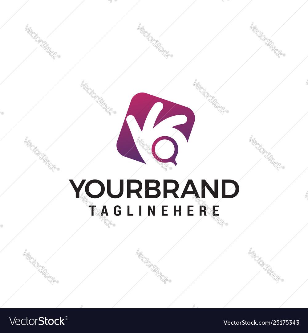 Camera photography logo design concept template