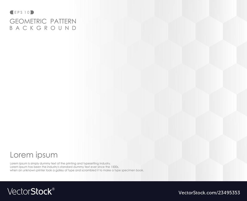 Abstract of pentagon geometric pattern gradient
