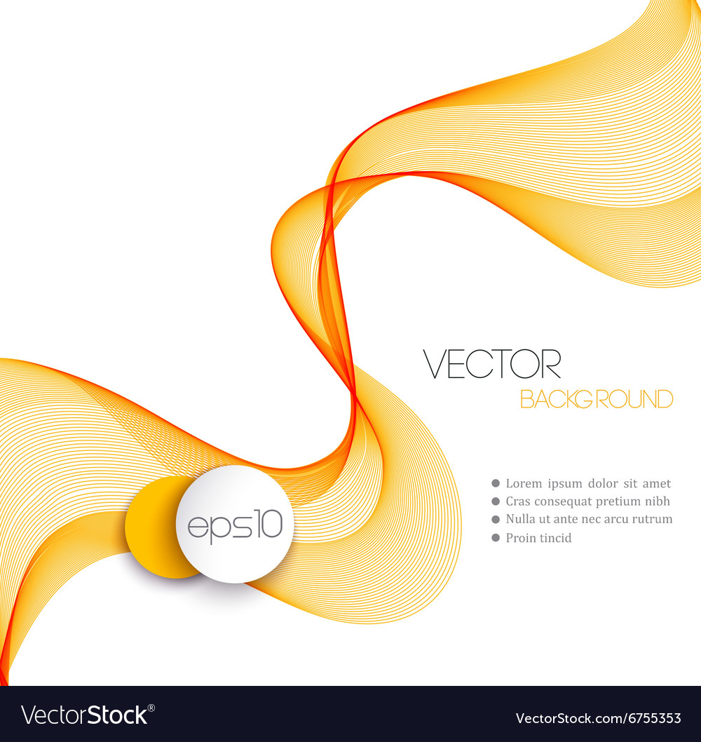 Abstract smoky waves background Template