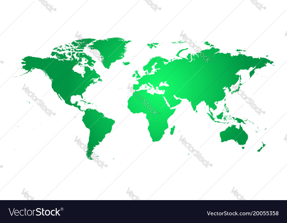 colorful political world map world map template vector image