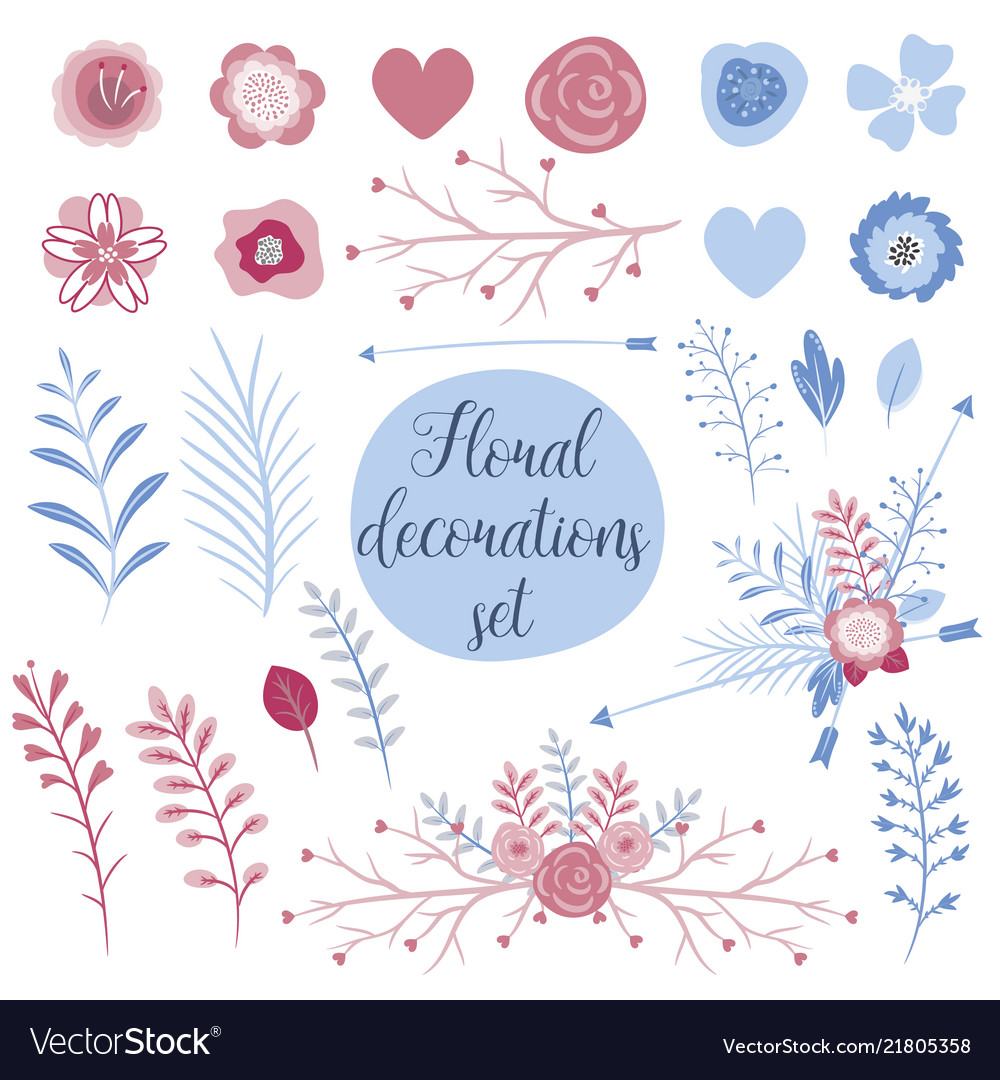 Love collection set for cards perfect for
