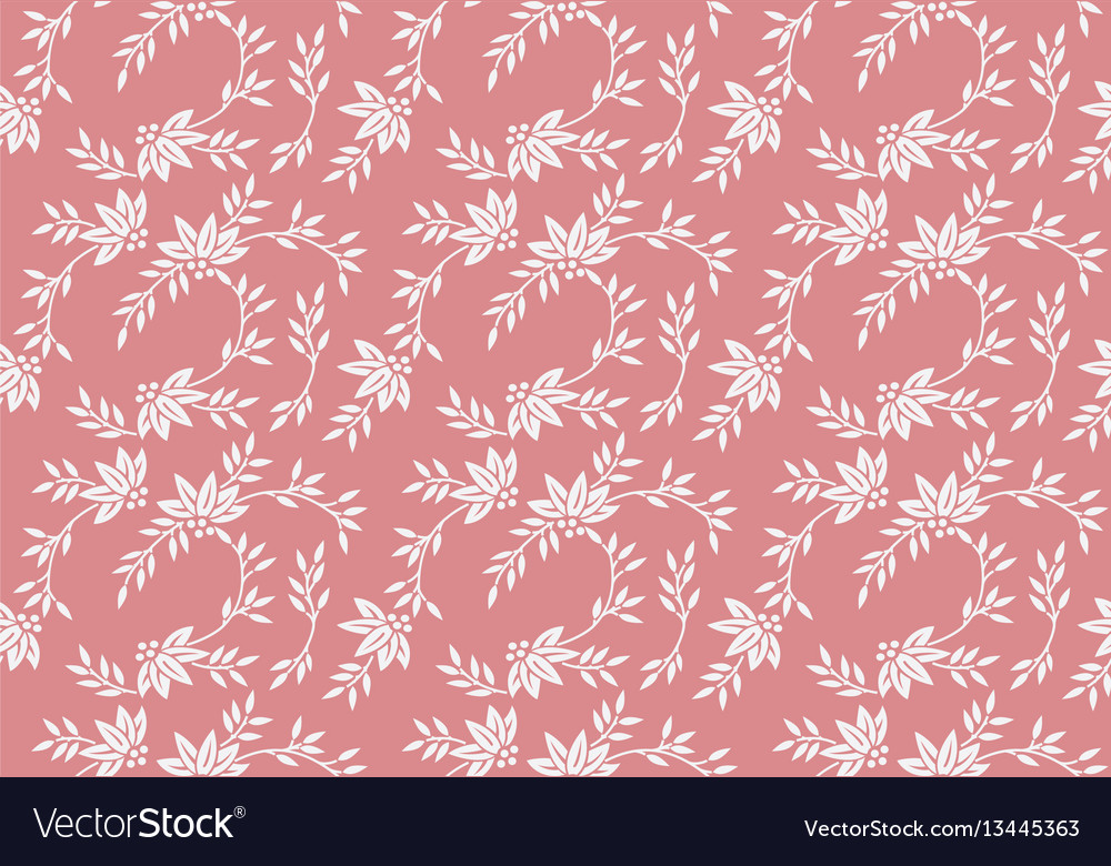 Seamless floral pattern with tiny elements