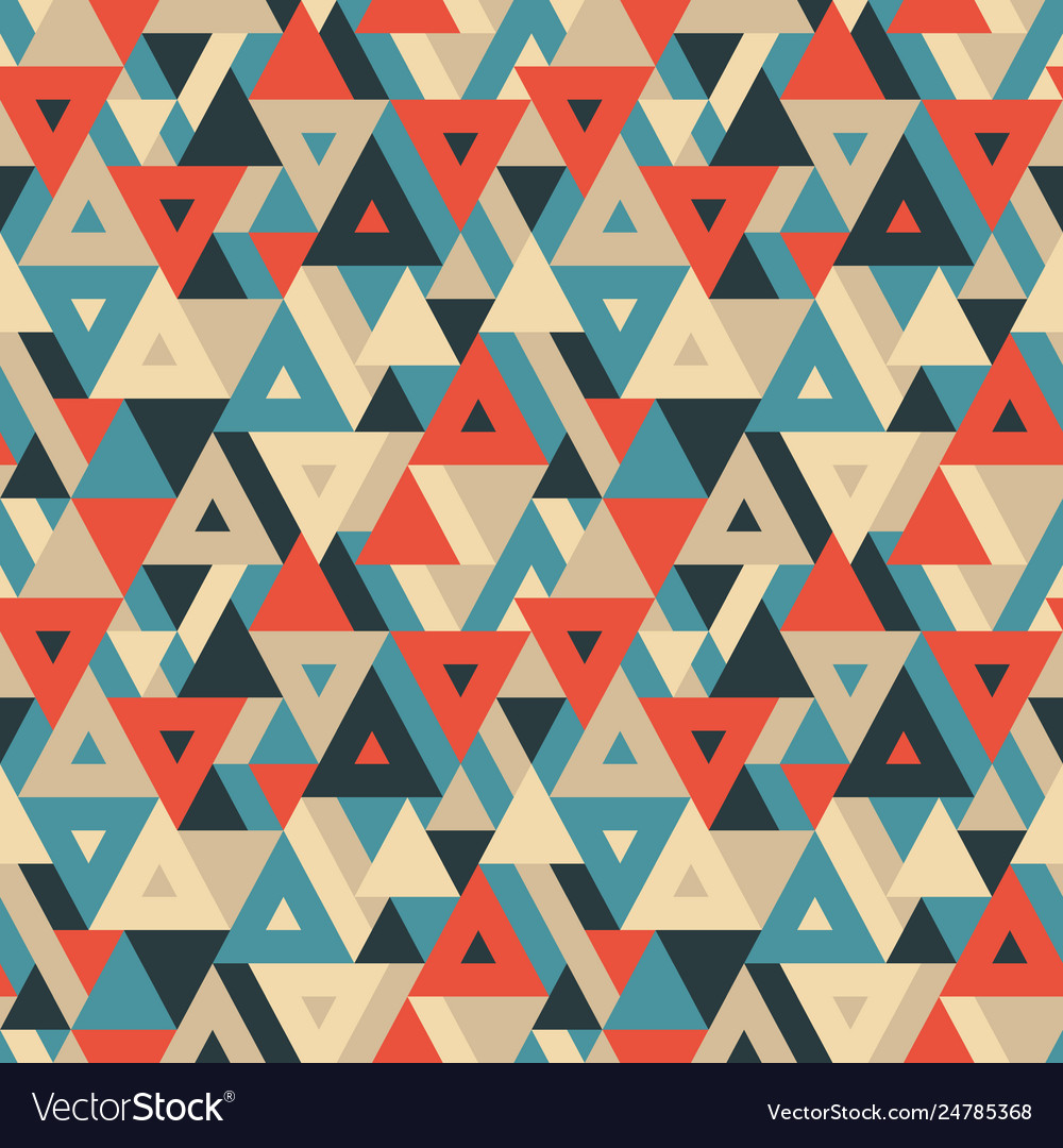 Abstract geometric background - seamless