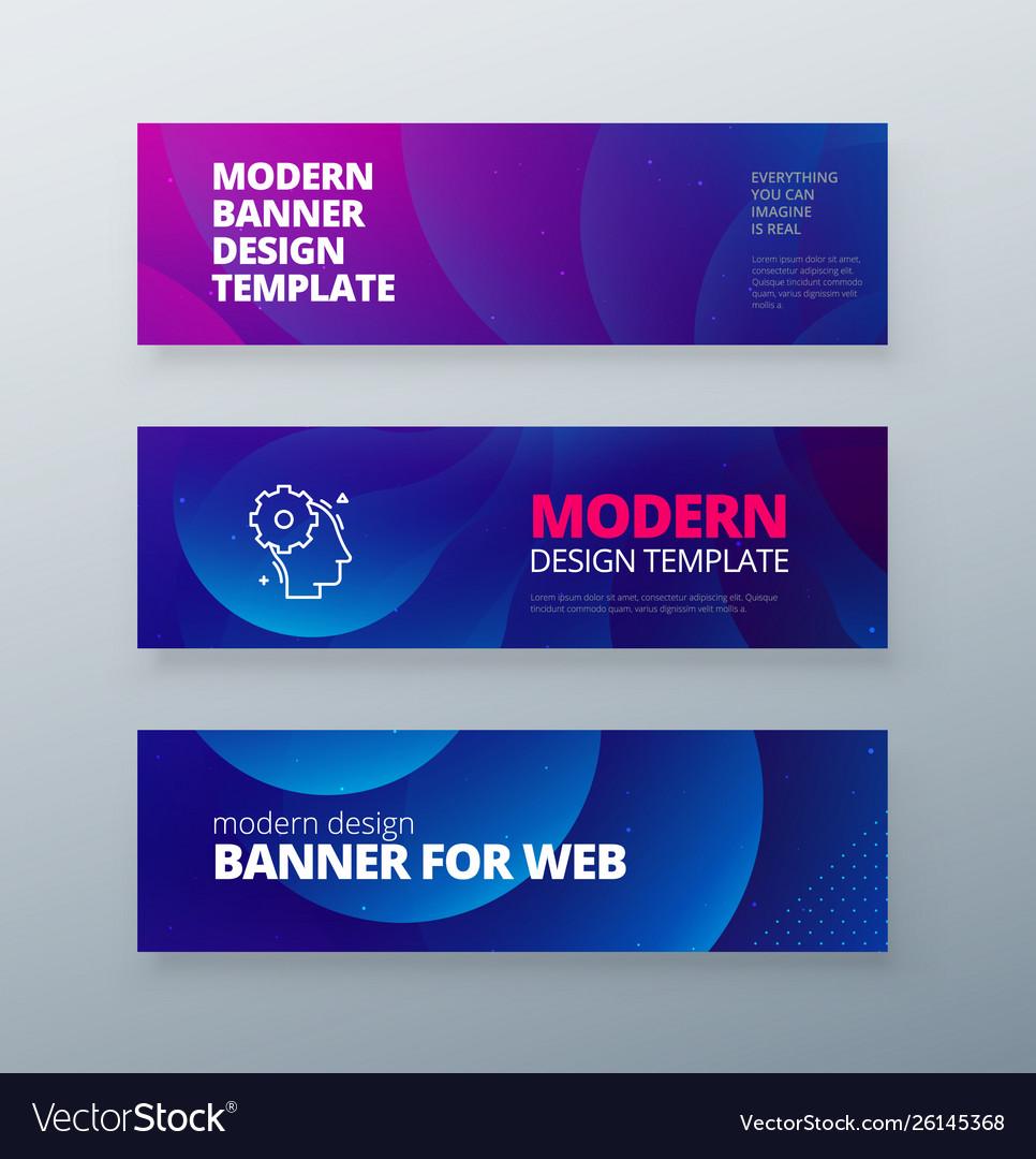 Horizontal sale banner background for social