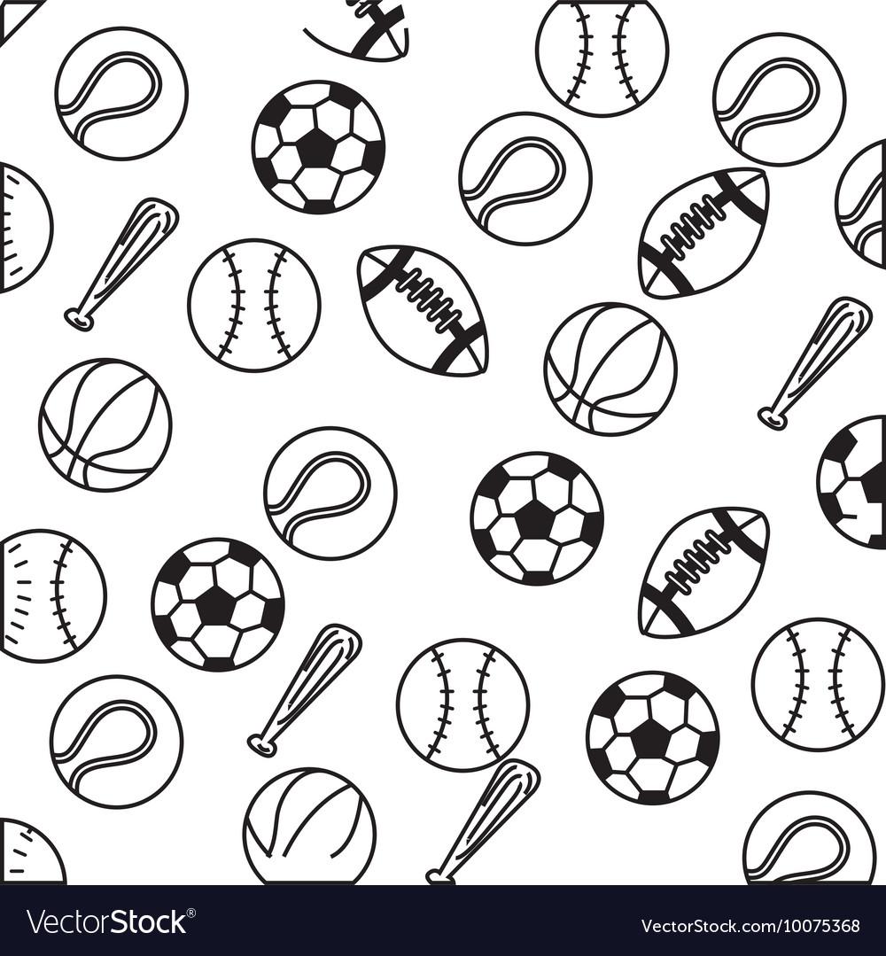 Set balls sports equipment