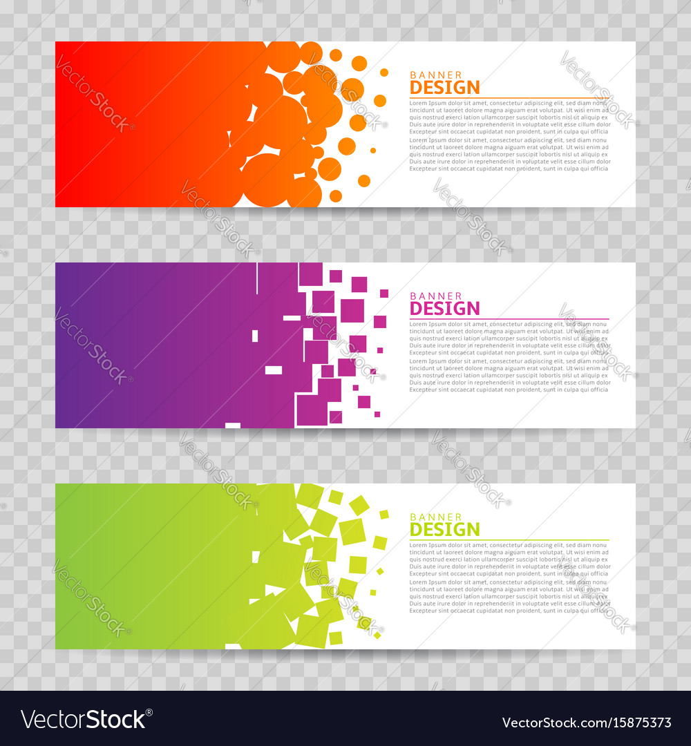 banner design background royalty free vector image