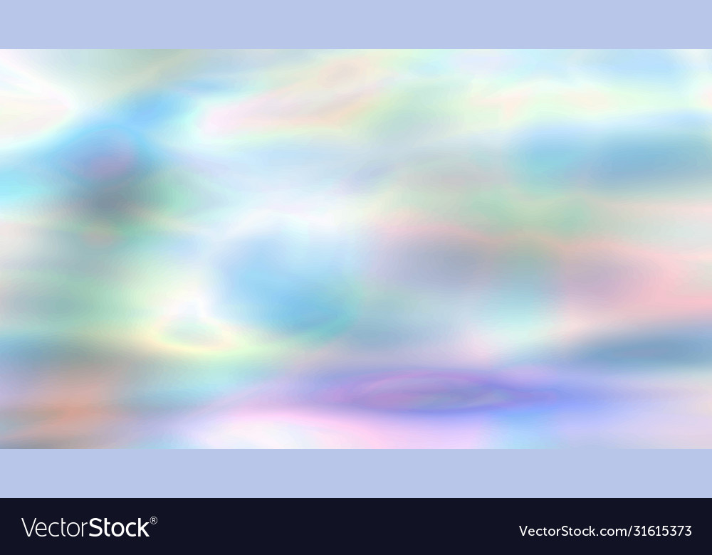 Blurred colorful holographic background in neon
