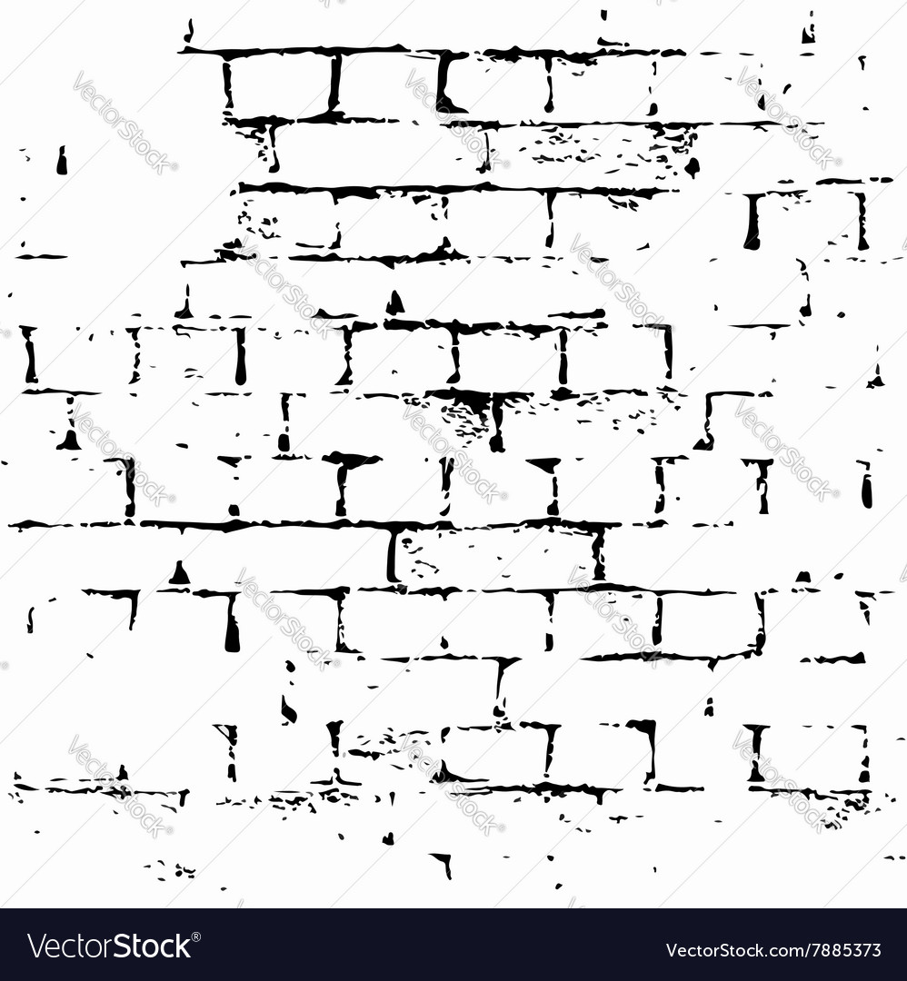 Brick wall background grunge
