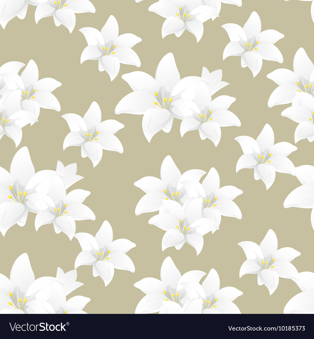 Florals of seamless pattern background