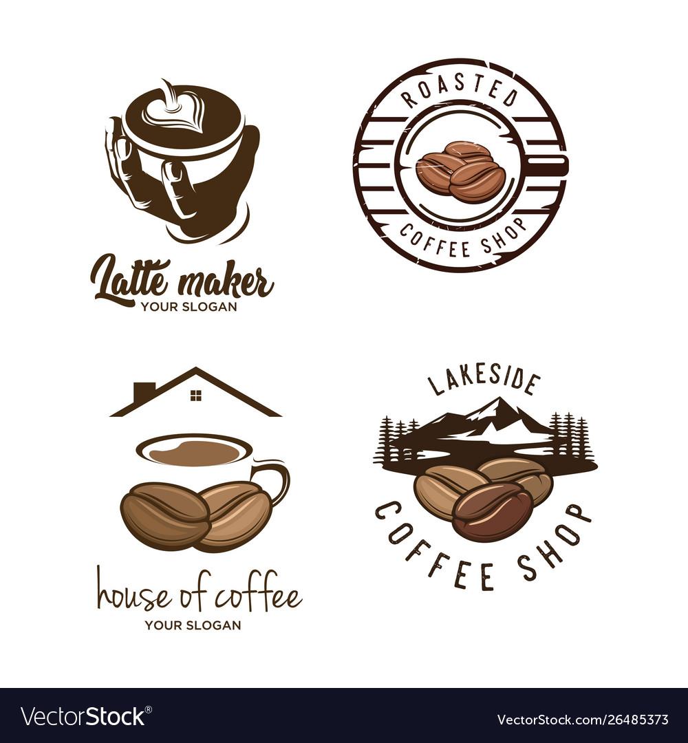 Set coffee logo