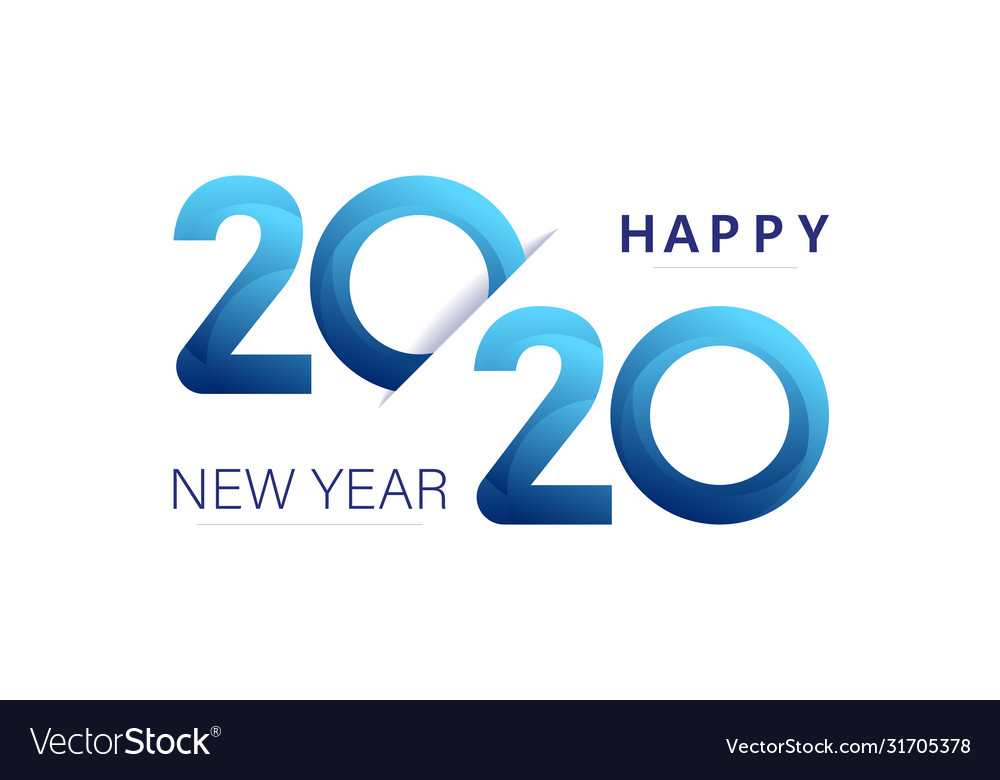 2020 new year insta style banner template