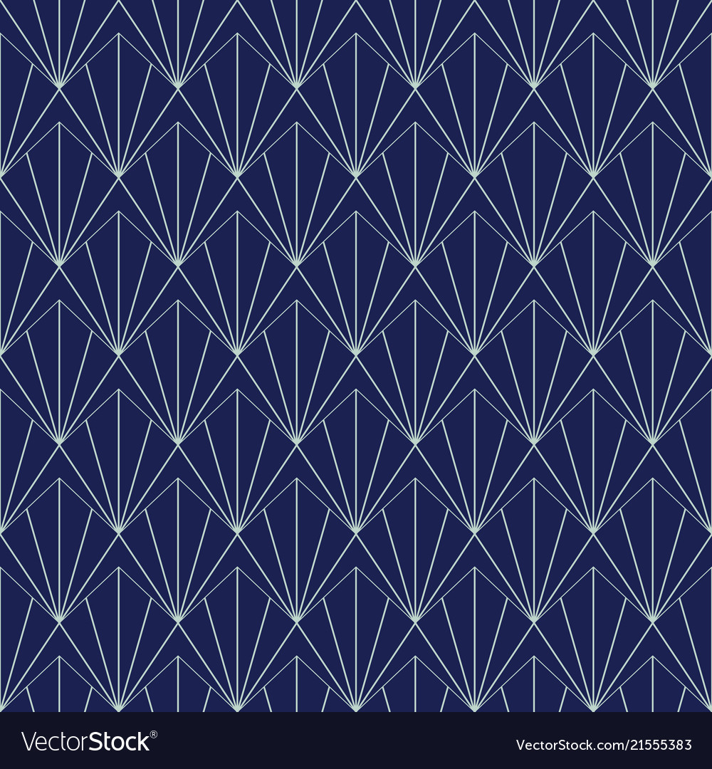 Art deco seamless pattern geometrical background