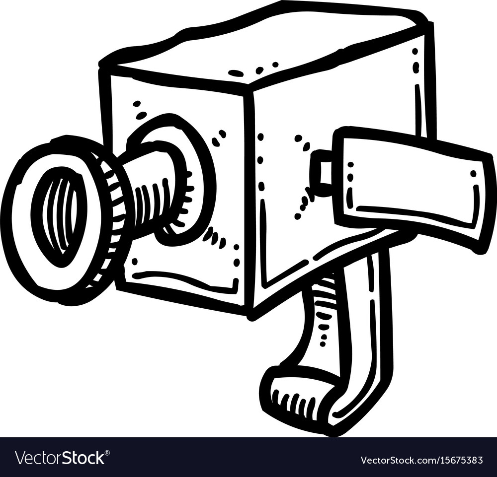 Cartoon image of camera icon camera symbol vector image