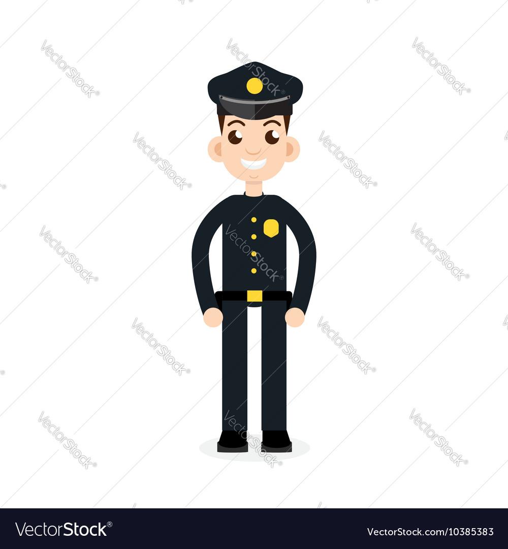 Police oficer icon