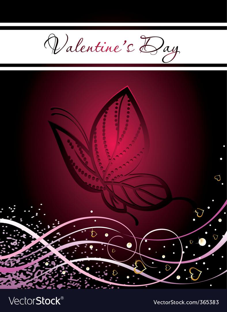 Valentines illusatration vector image
