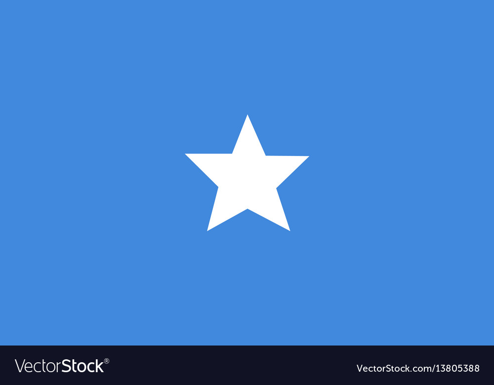 Somalia flag for independence day and infographic vector image